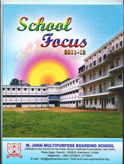 WJOHN RESIDENTIAL SCHOOL IN RANCHI