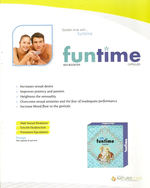 funtime capsules sex booster